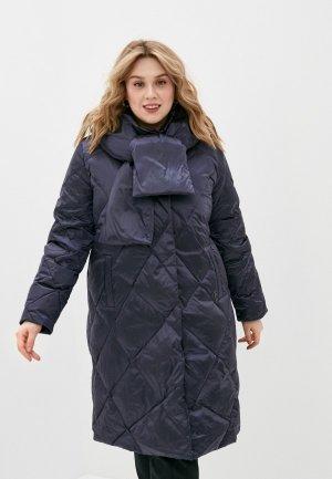 Пуховик Dixi-Coat. Цвет: синий