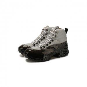 Комбинированные ботинки Andreas ROA. Цвет: серый