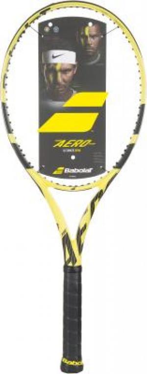 Ракетка для большого тенниса Pure Aero Team Babolat. Цвет: желтый