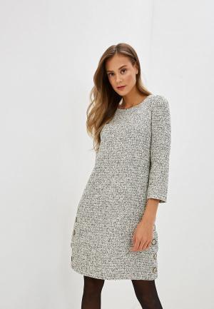 Платье Gregory. Цвет: серый
