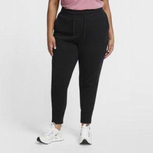 Женские брюки Sportswear Tech Fleece (большие размеры) - Черный Nike