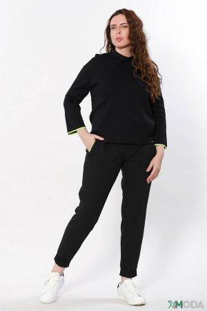 Спортивные брюки Cinque. Цвет: чёрный