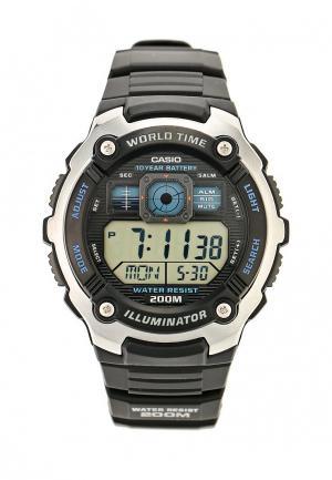 Часы Casio Collection AE-2000W-1A. Цвет: черный
