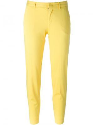 Брюки-чинос кроя слим Pt01. Цвет: жёлтый и оранжевый