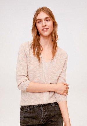 Пуловер Mango - SAETA. Цвет: розовый