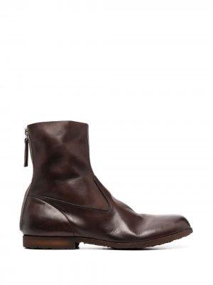 Ботинки на молнии Premiata. Цвет: коричневый