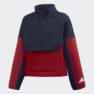 Олимпийка ID Performance adidas. Цвет: белый