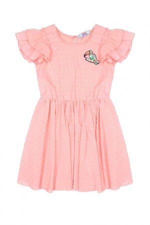 Платье Bell Bimbo. Цвет: светло-коралловый