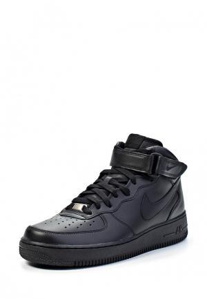 Кеды Nike AIR FORCE 1 MID 07 MENS SHOE. Цвет: черный