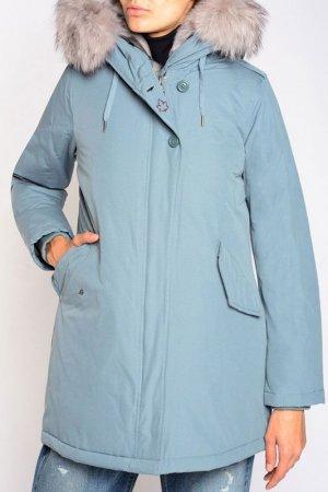 Куртка CANADIAN. Цвет: голубой