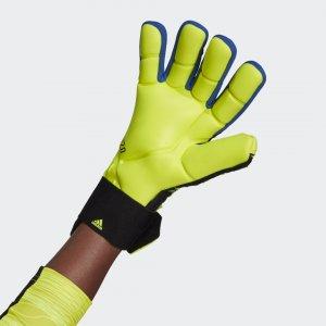 Вратарские перчатки Predator Competition Performance adidas. Цвет: белый