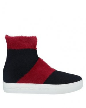 Полусапоги и высокие ботинки FORNARINA. Цвет: красный