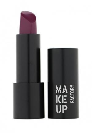 Помада Make Up Factory Устойчивая полуматовая для губ Magnetic Lips semi-mat&long-lasting тон 193 слива