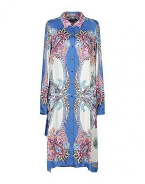 Платье до колена HALE BOB. Цвет: ярко-синий