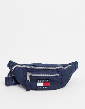 Нейлоновая сумка-кошелек на пояс -Темно-синий Tommy Jeans