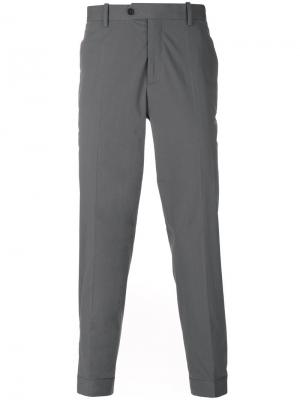 Классические брюки Neil Barrett. Цвет: серый