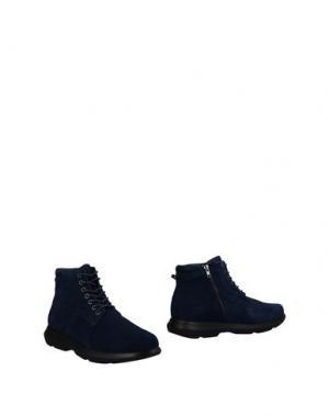 Полусапоги и высокие ботинки MARINA YACHTING. Цвет: темно-синий