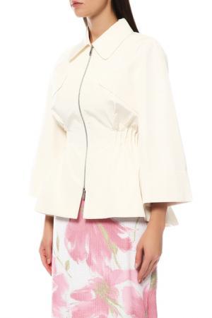 Ветровка Dior. Цвет: молочный