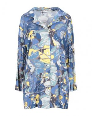 Pубашка BINI Como. Цвет: бирюзовый