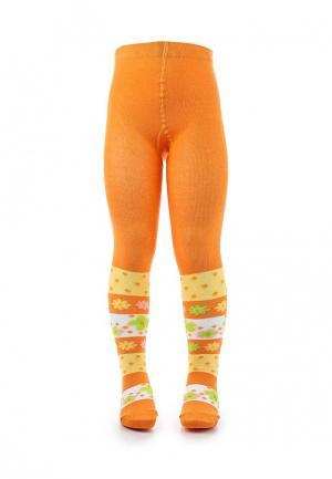 Колготки Брестские. Цвет: оранжевый