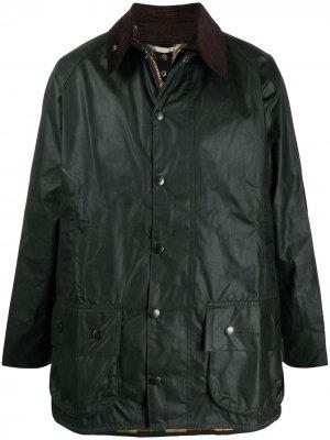 Вощеная куртка Beaufort Barbour. Цвет: зеленый