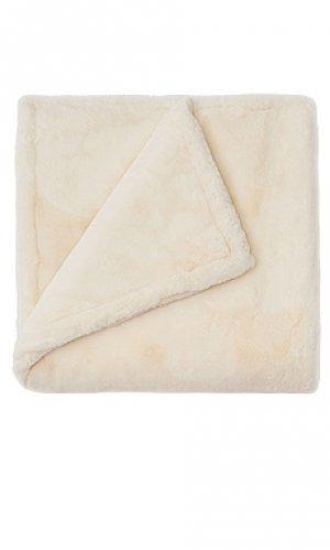 Одеяло shirley Apparis. Цвет: ivory