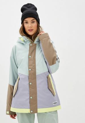 Куртка горнолыжная Burton W LOYLE PARKA. Цвет: разноцветный