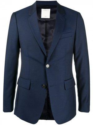 Строгий пиджак Sandro Paris. Цвет: синий