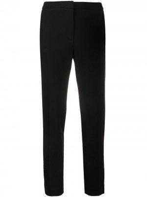 Укороченные брюки с завышенной талией Escada. Цвет: черный