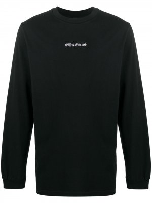 Футболка из коллаборации с Matthew M. Williams Stussy. Цвет: черный