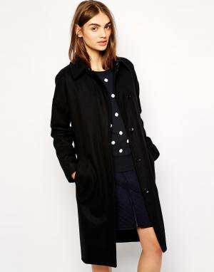 Пальто с поясом BZR