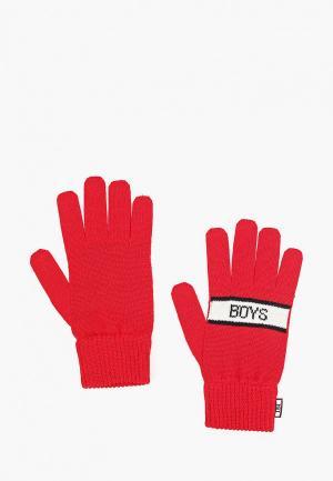 Перчатки J.B4. Цвет: красный