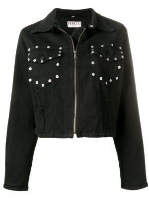 Джинсовая куртка с кнопками на кармане Fiorucci