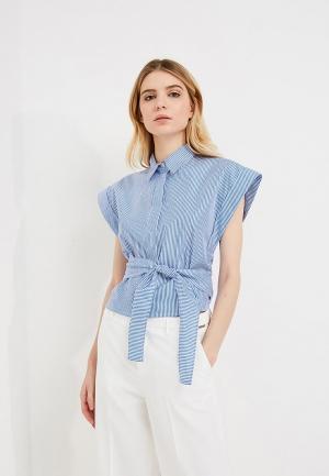 Блуза Pinko. Цвет: голубой