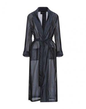 Легкое пальто ROBERTO COLLINA. Цвет: темно-синий