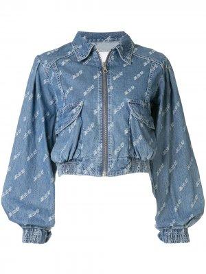 Укороченная джинсовая куртка Ground Zero