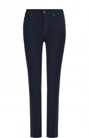 Укороченные джинсы Loro Piana. Цвет: темно-синий