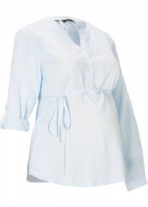 Блузка для будущих мам bonprix. Цвет: синий