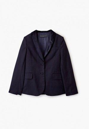 Пиджак Alessandro Borelli Milano. Цвет: синий