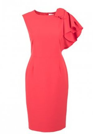 Платье ANNA RACHELE. Цвет: красный