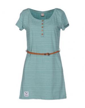 Короткое платье IRIEDAILY. Цвет: зеленый