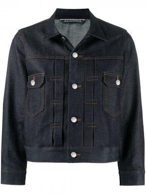 Укороченная джинсовая куртка Fearnmore Mackintosh. Цвет: синий