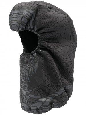 Фактурный капюшон-балаклава Formy Studio. Цвет: серый