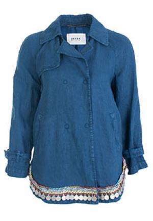 Куртка BAZAR DELUXE. Цвет: синий