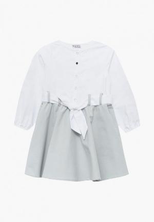 Платье By Kasl. Цвет: белый