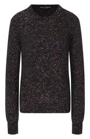 Пуловер Dolce & Gabbana. Цвет: разноцветный