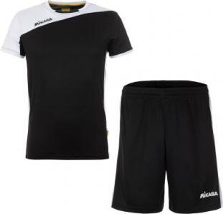 Комплекты волейбольной формы мужской MIKASA Busai, размер 52. Цвет: черный