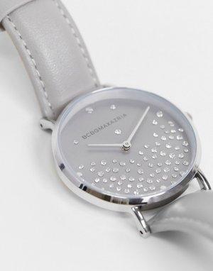 Часы со стразами BCBG Max Azria-Серебристый MaxAzria