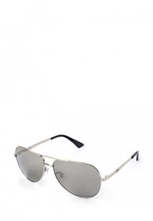 Очки солнцезащитные PUMA. Цвет: серебряный