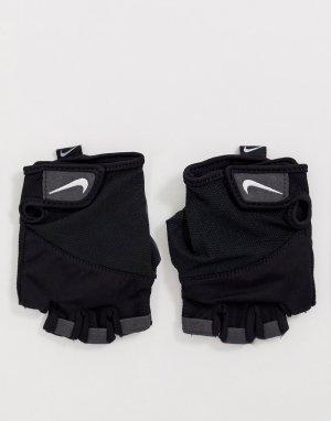 Женские спортивные перчатки Training elemental-Черный цвет Nike